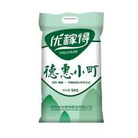 德惠小町米10斤 东北大米 寿司米 小粒米5KG真空装