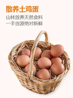 散养土鸡蛋